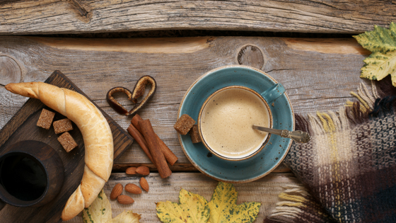 Picture of tea, spices and almonds