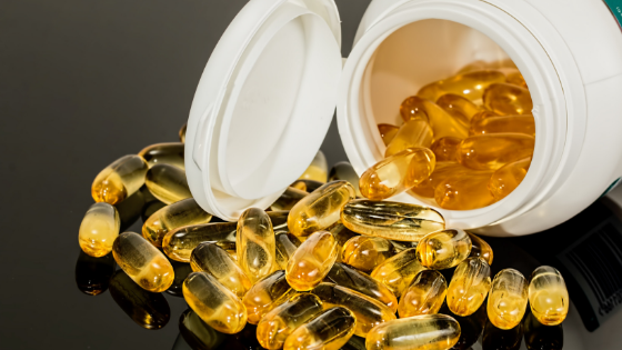 Image of supplements in bottle
