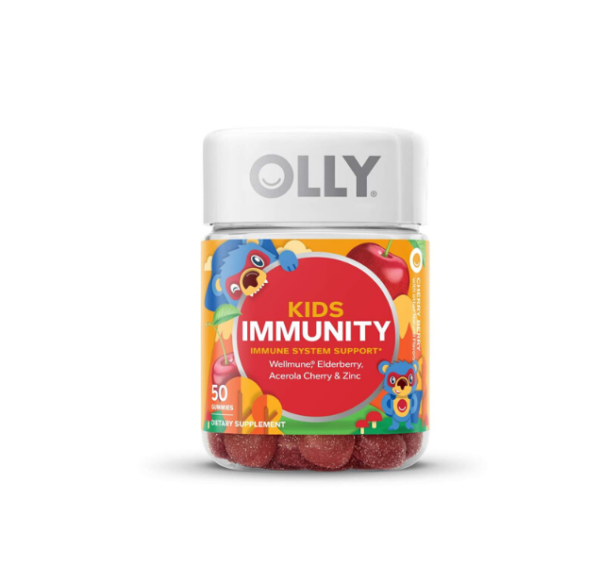 picture of olly kids immunity with wellmune