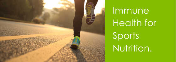 Immune Health for Sports Nutrition.