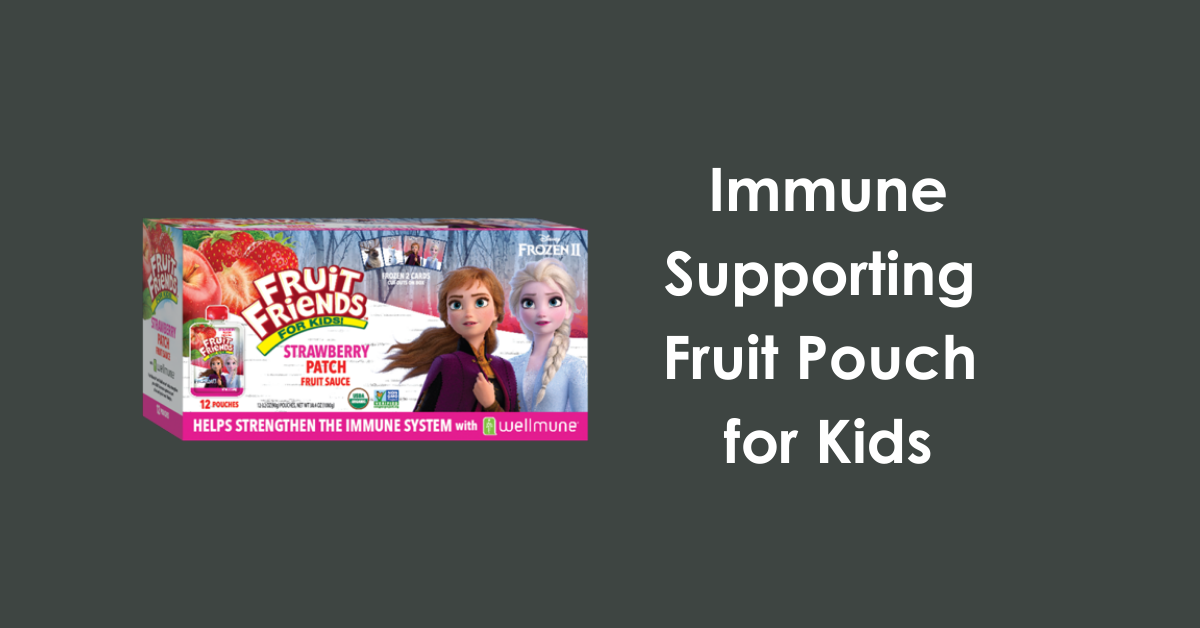 fruit pouch immune for kids with wellmune