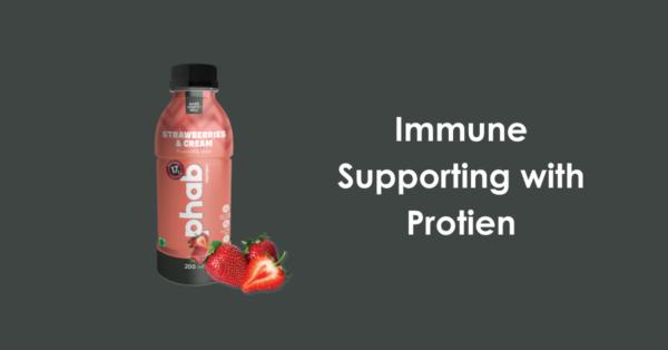 immune protein beverage with wellmune