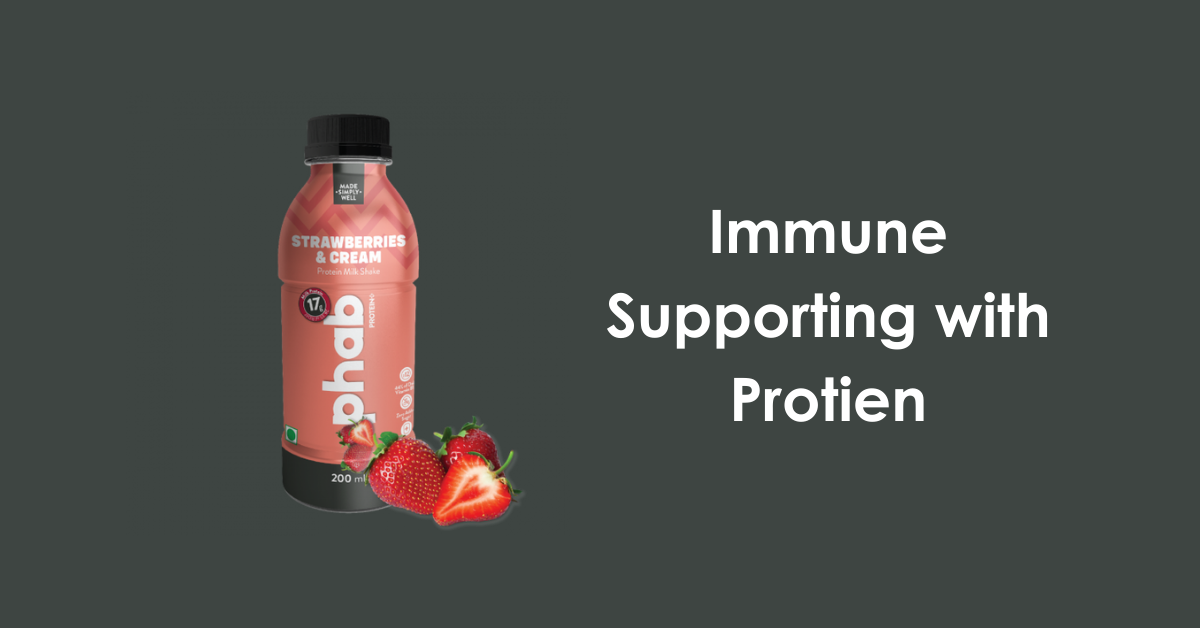 immune protein beverage with wellmune